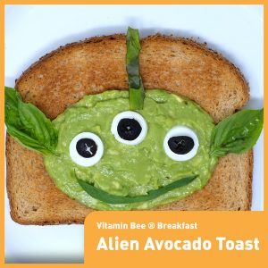 Alien Avocado Toast