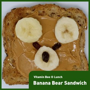 Banana Bear Toast