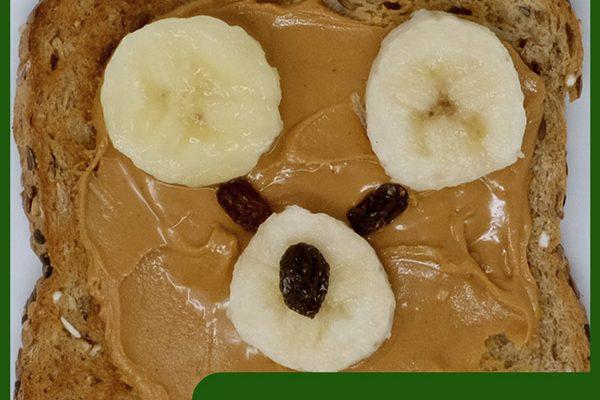 Banana Bear Toast