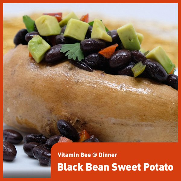 Vitamin Bee ® Black Bean Sweet Potato