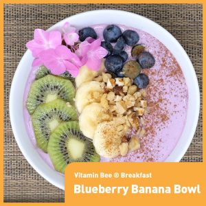 Moon & Stars Blueberry Banana Bowl