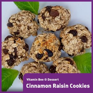 Healthy Cinnamon and Raisin Cookies