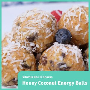 Honey Coconut Energy Balls