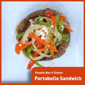 Fancy Portobello Sandwich
