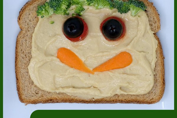 Savory Funny Open-Faced Sandwich