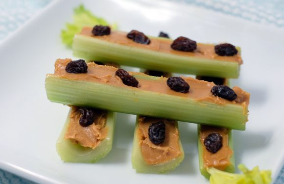 Ants On A Log Vitamin Bee Healthy Kid Recipes