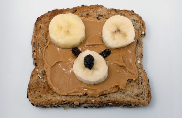 Vitamin Bee ® Nut Butter and Banana Sandwich