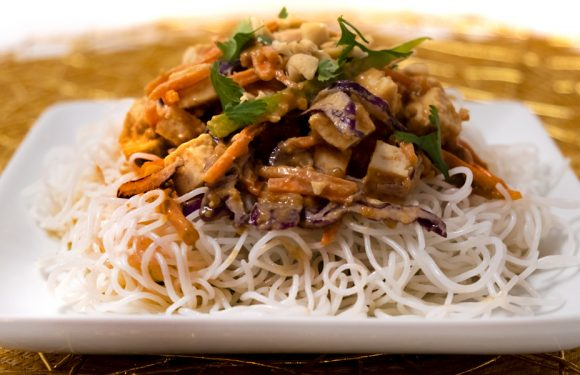 Vitamin Bee ® Noodles with Peanut Sauce