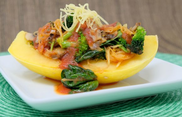 Vitamin Bee ® Spaghetti Squash Marinara & Veggies