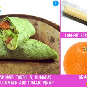 Lunch Wraps 1-2-3